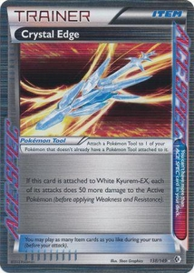 Crystal Edge 138/149 - Pokemon Boundaries Crossed Holo Rare Card