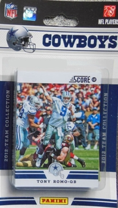 Dallas Cowboys 2012 - 2013 Score / Panini NFL Football Card Team Set