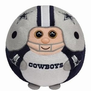 Dallas Cowboys (Large - 8 Inch) - NFL TY Beanie Ballz