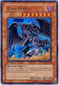 Dark Horus PTDN-EN016 - YuGiOh Phantom Darkness Ultra Rare Card