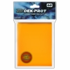 Dek Prot Standard Sized Card Sleeves - Mango Yellow (60 Card Sleeves)