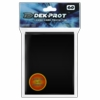 Dek Prot Standard Sized Card Sleeves - Midnight Black (60 Card Sleeves)