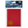 Dek Prot Standard Sized Card Sleeves - Pepper Red (60 Card Sleeves)