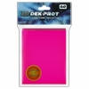 Dek Prot Standard Sized Card Sleeves - Rose Red (60 Card Sleeves)