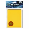 Dek Prot Standard Sized Card Sleeves - Sunflower Yellow (60 Card Sleeves)