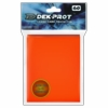 Dek Prot Standard Sized Card Sleeves - Tulip Orange (60 Card Sleeves)