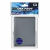 Dek Prot YuGiOh Sized Card Sleeves - Darksteel Grey (50 Card Sleeves)