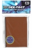 Dek Prot YuGiOh Sized Card Sleeves - Mocha Brown (50 Card Sleeves)