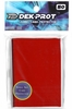 Dek Prot YuGiOh Sized Card Sleeves - Pepper Red (50 Card Sleeves)