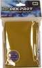 Dek Prot YuGiOh Sized Card Sleeves - Sunset Gold (50 Card Sleeves)