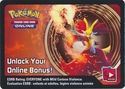 Delphox EX Kalos Power Tin Unused Code Card