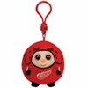Detroit Red Wings (Plastic Key Clip) - NHL TY Beanie Ballz