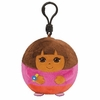Dora the Explorer (Plastic Key Clip) - TY Beanie Ballz