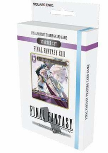 Final Fantasy XIII Trading Card Game Ice and Lightning Starter Deck (Pre-Order ships January)