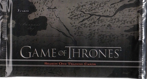 Game Of Thrones Season One Booster Pack ( 5 Cards Per Pack )
