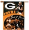 "Green Bay Packers Brett Favre 27"" x 37"" Vertical Flag"