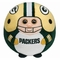 Green Bay Packers (Large - 8 Inch) - NFL TY Beanie Ballz