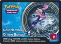Greninja EX Kalos Power Tin Unused Code Card