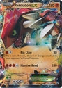 Groudon EX XY42 - Pokemon Holo Promo Card