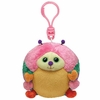 Gumdrop The Caterpillar (Plastic Key Clip) - TY Beanie Ballz