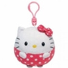 Hello Kitty (Plastic Key Clip) - TY Beanie Ballz