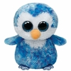 Ice Cube the Blue Penguin (Regular Size) - TY Beanie Boos
