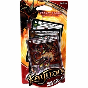 Kaijudo Rise of the Duel Masters Rocket Storm Competitive Deck