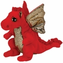 Legend the Red Dragon (Regular Size) - TY Beanie Baby