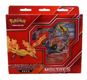 Legendary Battle Decks: Moltres EX Pokemon Theme Deck