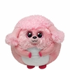 Lovey The Pink Poodle (Regular Size) - TY Beanie Ballz