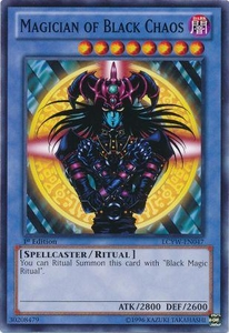 Magician of Black Chaos LCYW-EN047 - Legendary Collection 3: Common Card