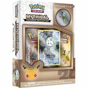 Meloetta Pokemon Mythical Collection Box