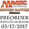 Modern Masters 2017 Magic Booster Box
