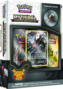 Mythical Darkrai Pokemon Collection Box