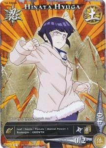 Naruto Shattered Truth Hinata Hyuga 1156 Common Single Card