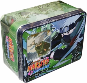 Naruto Shippuden Card Game Unbound Power Collector Tin Kakashi Hatake