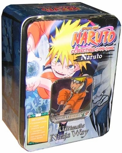 Naruto Trading Card Game Collectible Tin Naruto Uzumaki