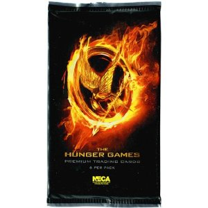 NECA The Hunger Games Movie Trading Cards Pack (6 Cards)