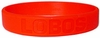 New Mexico Lobos Rubber Bracelet / Wristband (Red)