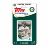 Oakland Athletics 2013 Topps Baseball Card Team Set