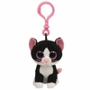 Pepper The Black & White Cat (Plastic Key Clip) - TY Beanie Boos