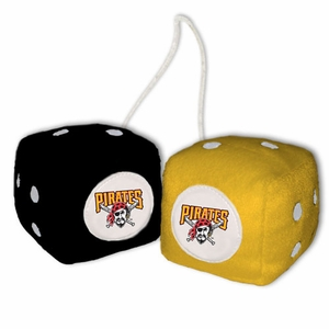 Pittsburgh Pirates MLB Fuzzy Dice