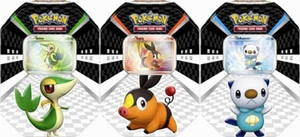 Pokemon 2011 Trading Card Game SET of 3 Spring Sneak Peek Tins