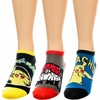 Pokemon Ankle Socks - 3 Pair Pack