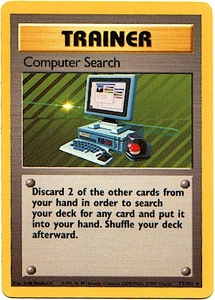 Pokemon Basic Rare Card - Trainer Computer Search 71/102