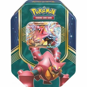 Pokemon Battle Heart Volcanion EX Tin