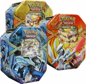 Pokemon Black & White Spring 2013 Legendary Tin Set
