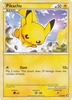 Pokemon Card HeartGold SoulSilver HS Undaunted Common Pikachu 61/90