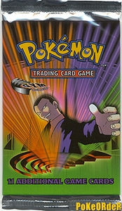 Pokemon Cards Gym Challenge Booster Pack