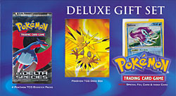 Pokemon Deluxe Gift Set - Zapdos